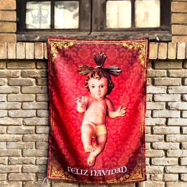 Balconera del niño Jesús en pared
