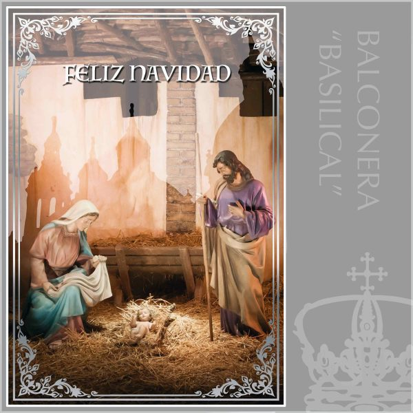 Balconera Navidad Nacimiento Basilica