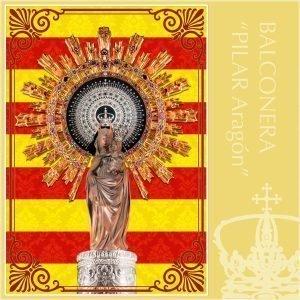 Balconera Virgen del Pilar Aragón