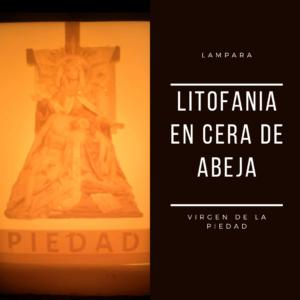 Litofania Piedad