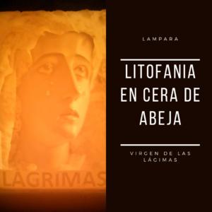 Litofania Lágrimas